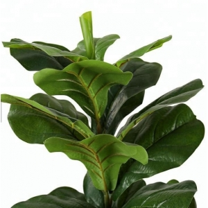 Sub foto Planta artificial Leaf tree H.175 cm
